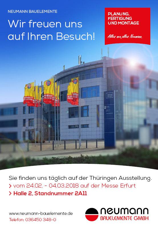 Neumann Bauelemente - Thüringen Ausstellung 2018
