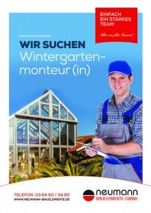 Wintergartenmonteur (m/w)